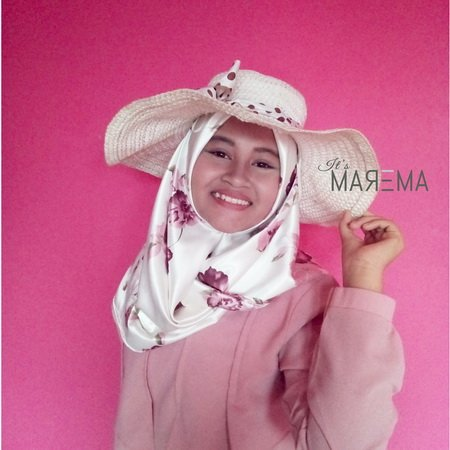 ANDRO CLASSIC - Naira Scarf dusty Pink-broken White