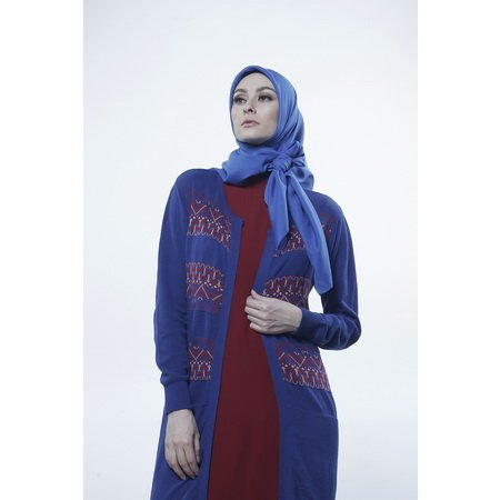 Shafira - Gamis Dress Wanita Long Cardigan with Hungari